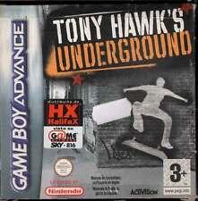 Tony Hawk's Underground Game Boy Advance GBA Nuovo 5030917021572