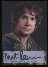 The Hobbit Battle of the Five Armies Poster AUTO MF-P ~ Martin Freeman as BILBO