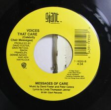 90'S 45 David Foster And Peter Cetera - Voices That Care / Voices That Care On G