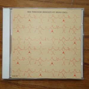 "YELLOW MAGIC ORCHESTRA - See-Through 3""CD (Remix Brian Eno)  Japan Alfa ALDA-100"
