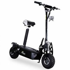 E-Scooter 1000W Freeride schwarz Elektro Roller Scooter E-Scooter Elektroroller