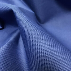 Royal Blue Heavy Duty Waterproof Canvas Fabric 600D Outdoor Cover Sold By Metre
