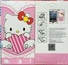 iphone 5/5S Cute Hello Kitty Screen Protector Front&Back