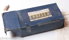 "Graflex Press 2 1/4 x 3 1/4"" Cut Film Holder 3-Pack - EMPTY BOX ONLY - USED D14"