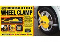 "Maypole Security Universal 13"" - 17"" Caravan Car Van Wheel Clamp Lock #MP9065"