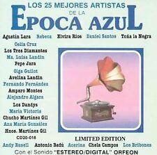 Los 25 Mejores Artistas De La Epoca Azul CD CELIA CRUZ HERMANOS GIL OLGA GUILLOT