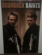 boondocks saints signed 24x36 poster sean patrick flanery norman reedus w/coa
