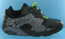 RARE PUMA DISC BLAZER GRAFFITI MENS TRAINERS BLACK/GREEN/WHITE UK SIZE 8