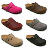 Birkenstock Boston Unisex Clog Sandals REGULAR WIDE Shoes All Size Slide Fashion