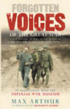 Forgotten voices of the Great War by Max Arthur|Imperial War Museum (Hardback)