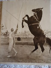 COUNT MIROSK Animal trainer CIRCUS Photo ROLAND BUTLER COLLECTION B&W 8 X 10""