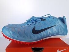 NIKE Zoom Maxcat 4 Sprint Spike Track Shoes 549150-446 Unisex Mens Womens Blue