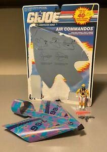 GI Joe 1991 Air Commandos Cloudburst 100% Complete w/Full Cardback & Glider ARAH