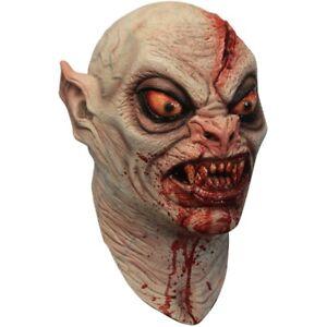 Bloodsucker Vampire Head Latex Horror Halloween Mask Fancy Dress by Ghoulish