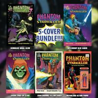 🚨💀💥 PHANTOM STARKILLER #1 EXCLUSIVE VARIANT BUNDLE OF 5 Ltd 600 Scout Comics