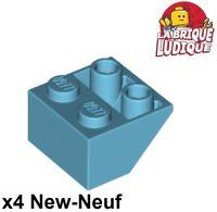 3010 LEGO Brick 1 x 4 NEUF X 10 Medium Azure