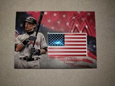 2018 Topps Series 2 Ichiro Independence Day Flag Patch Red Parallel #1/25