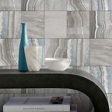 Wanddekoration blaugrün und Grau Marmor Fliesen Tapete Küche Badezimmer 414530