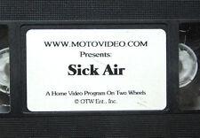 SICK AIR extreme motocross VHS Cliff Adoptante & Brian Deegan BMX skydiving MX