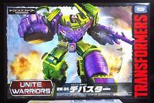 Transformers Takara Tomy Unite Warriors Devastator UW04 Figure Japan AUTHENTIC!!