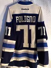 Reebok Premier NHL Jersey Columbus Blue Jackets Nick Foligno  Navy Alt sz XL