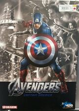 MARVEL/DRAGON ACTION HERO VIGNETTE 1:9 SCALE~AVENGERS CAPTAIN AMERICA~MODEL KIT