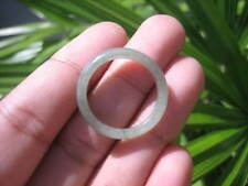 Natural Jadeite Jade ring Thailand jewelry stone mineral size  9.25 US   E 59161