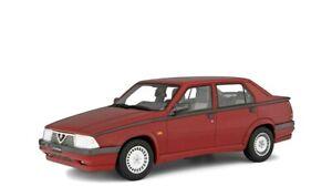 MODELLINO AUTO ALFA ROMEO 75 1987 SCALA 1/18 LAUDORACING MODELLISMO automodelli