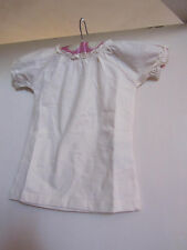 Girls Cream - Yellow Stretch Cotton Noa Noa T-Shirt Style Top - 4 years - NWT
