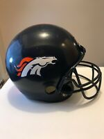 Franklin  NFL football helmet display only DENVER BRONCOS Dress up Play Pretend