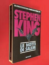 Stephen KING - LE NOTTI DI SALEM Bompiani Grandi Tascabili (1994) Libro Horror