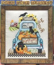 STONEY CREEK Cross Stitch Pattern Leaflet DOWN HOME HARVEST 457