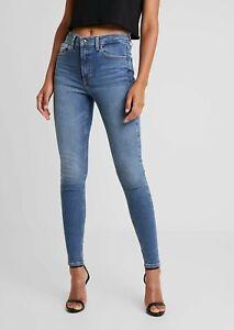 Topshop JAMIE - Jeans Skinny Fit Mid Danim UK Size W26 L28 VR262 06