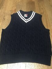 e35daf3b3 Tommy Hilfiger Boys  100% Cotton Sleeveless Sweaters (Sizes 4   Up ...