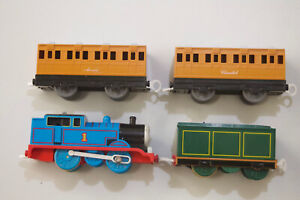 Lot of 4 TOMY THOMAS CLARABEL ANNIE 2002 LIMITED Trackmaster Motorized Train