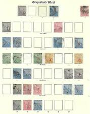 Griqualand stamps 1877 Collection of 26 stamps CANC VF CAT VALUE $1250