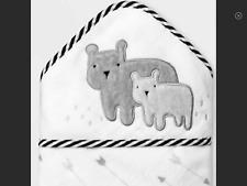 Nwt Hooded Baby Towel-Cloud Island-Bears