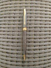 Parker Sonnet Sterling Silver with gold plated clip and ring Ballpoint Pen...NEW
