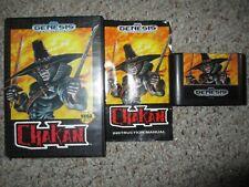Chakan: The Forever Man  (Sega Genesis, 1992) Complete