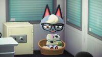 Gunnar - Raymond Bewohner Villager Animal Crossing New Horizons - Switch Konsole
