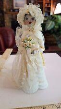 Estate Sale! Antique Layton Sea shell Lady doll figure SAILOR VALENTINE Bride