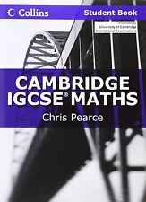 Cambridge IGCSE Maths by Chris Pearce (2011, Paperback, Student Edition of...