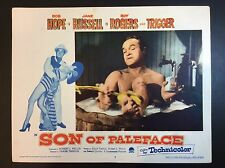 "BOB HOPE 11"" x 14""  ""Son Of Paleface"" 1952 LOBBY CARD MOVIE THEATER PROMO"