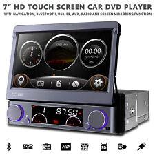 """7"""" motorizzato FLIP OUT HD Navigazione Bluetooth Auto Stereo con Radio DVD USB SD"""