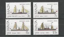 Malta 1985 barcos 3RD serie SG, 772-775 Um/M nh Lote 2125A