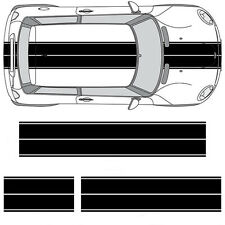 Mini Cooper Clubman Countryman Paceman Coupe Dual Rally Racing Stripes Decals