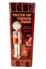 New listing Fill'Er Up 32 Oz. Liquor Pump Vintage Gravity Fed Gas Pump Style New