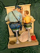 "Hard-2-Find Norman Rockwell Collection Figurine ""The Runaway"" w/ BackwallNr-6002"