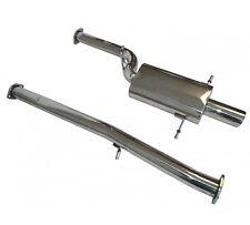 Manzo Stainless Steel Catback Exhaust Muffler For 2002-2007 Subaru WRX STI VER.2