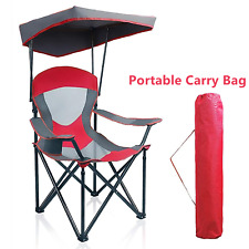 Camping Chairs With Canopy Shade Portable Outdoor Folding Chair Heavy Duty